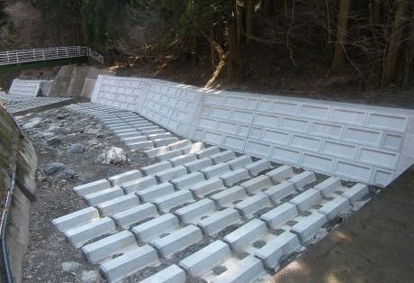 神流川流域砂防整備