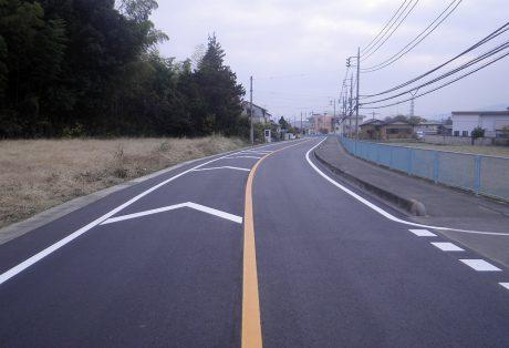 単独道路維持修繕事業(観光生活道路緊急補修)下日野神田線