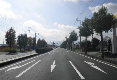 社会資本総合整備(防災・安全)(地方道舗装)前橋長瀞線