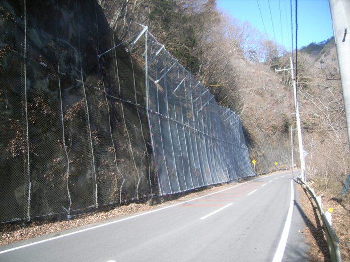 単独災害復旧国道299号