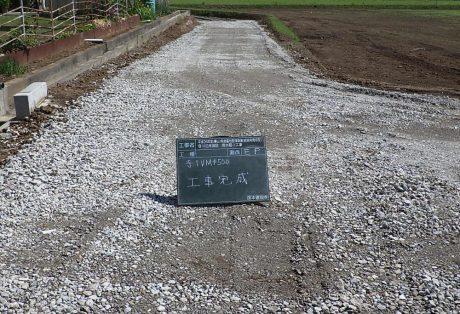 平成26年度(農山)県営農地整備事業 笹川沿岸地区用水路−1工事