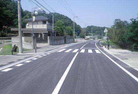 単独道路改築事業 高山下1工区 一般県道 下日野神田線