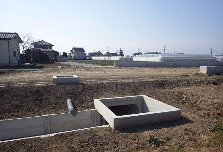 県営農業競争力強化基盤整備事業下戸塚地区支線排水路等4工事